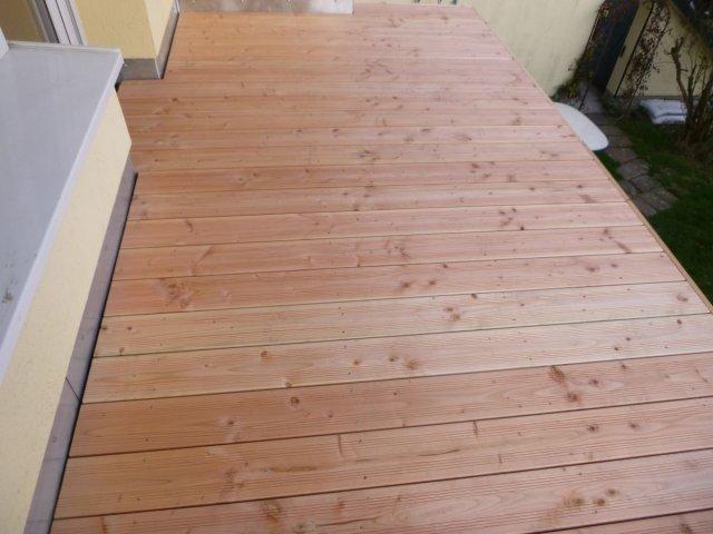 Dachdecker Latussek Balkon Mit Holzbelag